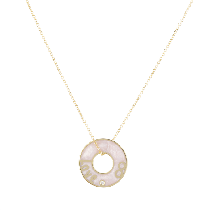 Love Yellow Gold Necklace